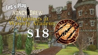 Let's Play Nancy Drew: Warnings at Waverly Academy S18 - Four Medallions