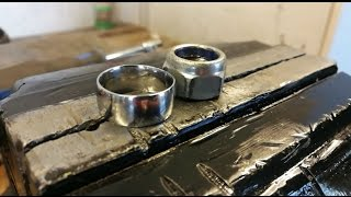 DIY Ring from a nut
