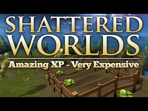 RuneScape Shattered Worlds - Most Expensive Minigame - Amazing XP