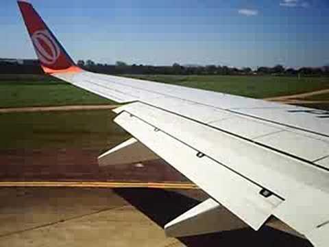 Decolando do Aeroporto de Porto Alegre