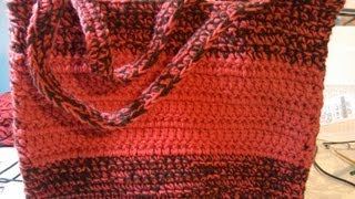 Easy Beginner crochet bag