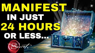 How To Manifest ANYTHING You Want in 24 HOURS!! | Law of Attraction Overnight Manifestation (OMG!!)