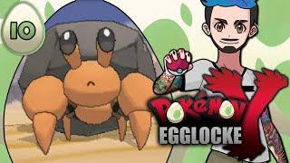 Pokémon Y Egglocke Part 10 | EVERY ENCOUNTER COUNTS
