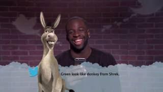 Draymond Green look like donkey from Shrek.