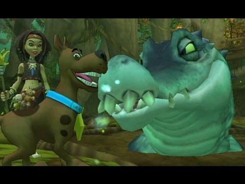 Scooby Doo and the Spooky Swamp Wii Walkthrough Finale Swamp Monster Boss Fight
