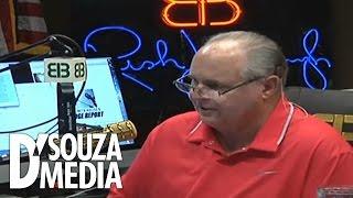 Rush Limbaugh Show: Dinesh D'Souza Debunks Liberal Revisionist History