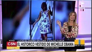 C5N - Obama en Argentina: Los regalos de Juliana Awada a Michelle Obama