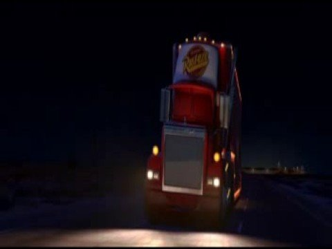 Pixar Cars Mack sleeping remix