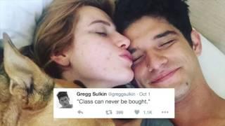 Gregg Sulkin Comments On Bella Thorne & Tyler Posey