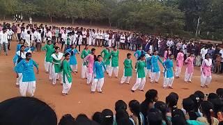SSIET COLLAGE NUZVID , SANKRANTHI SAMBARAALU MOB DANCE