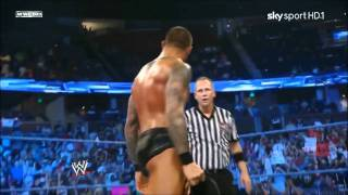 Randy Orton wins the World Heavyweight Championship (2011) *720p HD*