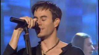 (HQ)Enrique Iglesias Escape ( Live Parkinson 2002 ).
