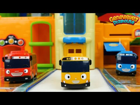 Best Learning Colors Video for Kids and Toddlers Tayo the Little Bus Toys