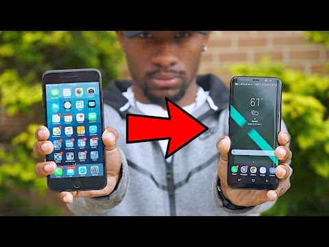 Switching from iPhone 7 Plus to Galaxy S8 Impossible