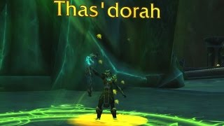 The Story of Thas'dorah, Legacy of the Windrunners [Artifact Lore]