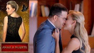 León descubre la infidelidad de Lucía | Amar a muerte - Televisa