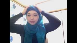 Hijab com acessorio part 2