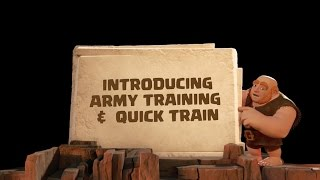 Clash of Clans: Introducing Army Training & Quick Train