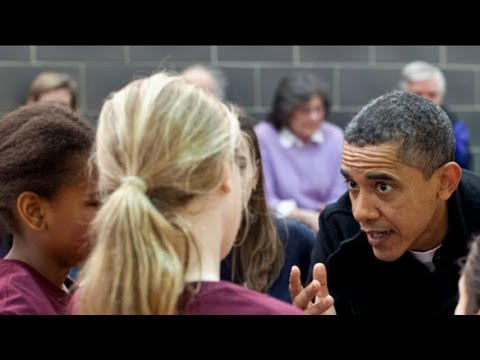 Barack Obama Coaches Sasha s Basketball Team Discusses Her Stubborn Attempts to Shoot Three s