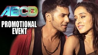 ABCD 2 (2015) Movie Promotional Events | Varun Dhawan, Shraddha Kapoor, Prabhudeva