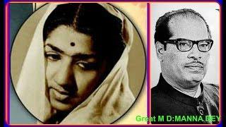 LATA JI-Film-NAAG CHAMPA-[1958]-Chhor Atariya Gaye Sanwariya-[ G S Nipali-Manna Dey ]