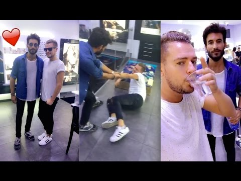 Best of Snapchat 87 Jeremstar simule un malaise pour draguer son opticien