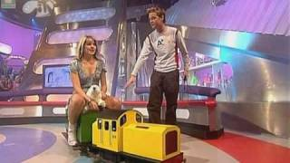 Holly Willoughby - Train Ride