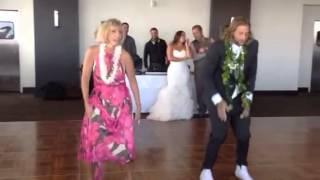 The best daughter/father and son/mother wedding dance off