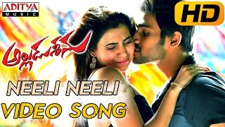 Neeli Neeli Full Video Song - Alludu Seenu Video Songs - Sai Srinivas,Samantha
