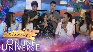 Showtime Online Universe: Luzon contender Danica Sto. Domingo works as a call center agent