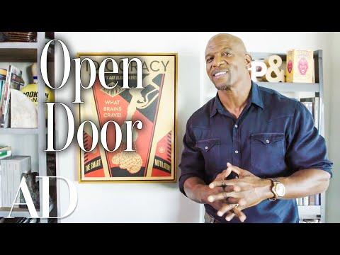 Inside Terry Crews LA Man Cave Open Door Architectural Digest