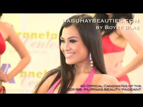 BB. PILIPINAS 2011 Here are the 40 OFFICIAL CANDIDATES