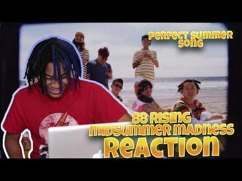 88RISING - Midsummer Madness ft. Joji, Rich Brian, Higher Brothers, AUGUST 08 (MV) - REACTION