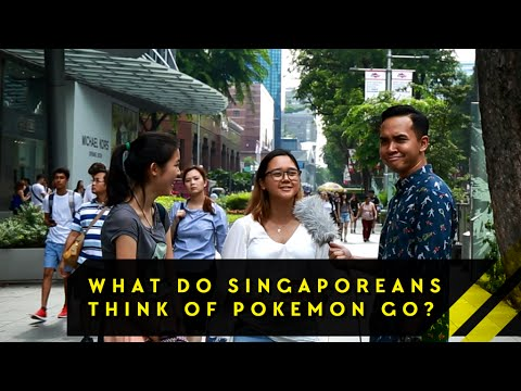 What Do Singaporeans Really Think About Pokemon Go Word On The Street EP 11