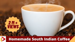 Make Perfect Coffee at Home  - Tricks and recipe for homemade coffee