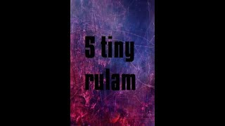 5 Tiny rúlam Edited whit muvi mejger and pejnt dot net more free porno at the end no clickbait