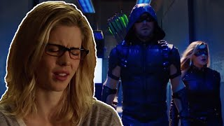 Arrow Season 4 Episode 11 Trailer Breakdown - Felicity Leaves Team Arrow?