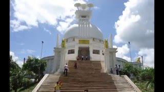 Dhauli Giri - the biggest attraction in Bhubaneswar