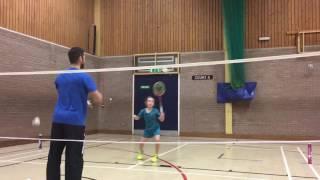 Kayleigh fast feet training