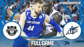 U-BT Cluj Napoca (ROU) v Alba Fehérvár (HUN) - Full Game - FIBA Europe Cup 2016/17