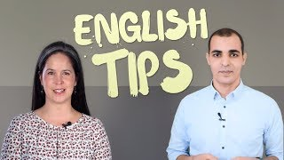 English Tips:  Motivation, Confidence, and Speaking in English