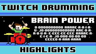 NOMA - Brain Power (Blind Drum Cover) -- The8BitDrummer