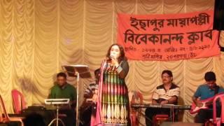 Tanusri Live at Ichapur....Shyama Sangeet