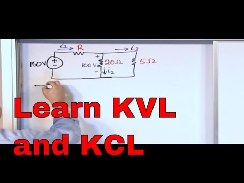 Xxx Mp4 Kirchhoff S Laws In Circuit Analysis KVL And KCL Examples Kirchhoff S Voltage Law Current Law 3gp Sex