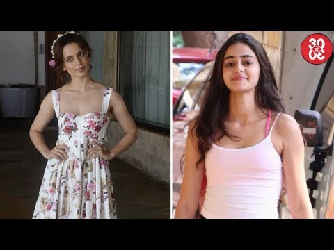 Kangana Goes Floral For 'Simran's Promotion | Ananya Looks Pretty In Pink
