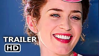 MARY POPPINS RETURNS Official Trailer # 2 (NEW 2018) Emily Blunt, Disney Movie HD