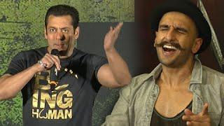 Salman Khan Ranveer Singh INSULT Singers In PUBLIC! WATCH