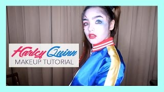 Harley Quinn Makeup Tutorial (ft. Careline products)   Andrea B.