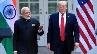 Trump says US, India