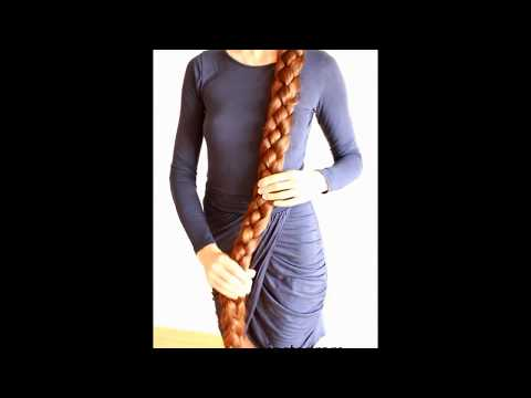 real life Rapunzel / The longest braid of YOUTUBE/ My very long hair #16